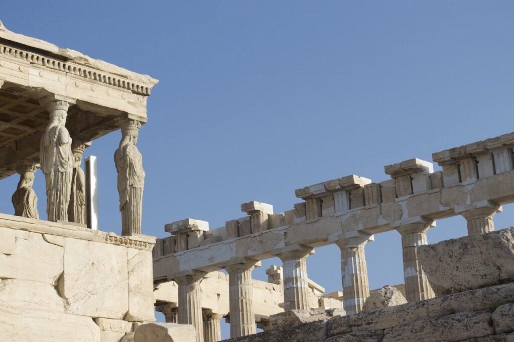 Akropolis van Athene in Griekenland