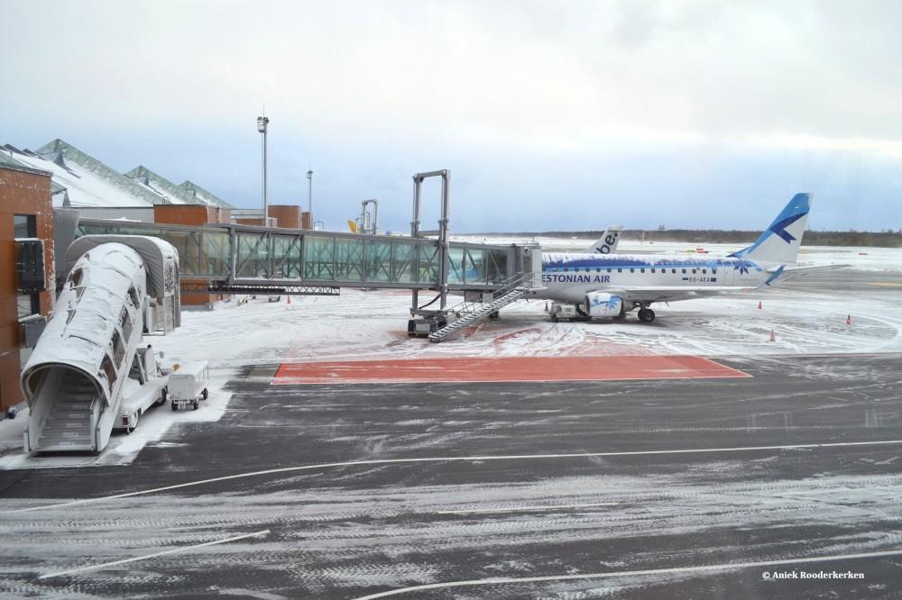 Vliegveld Tallinn Estland – einde van een mooie citytrip Tallinn