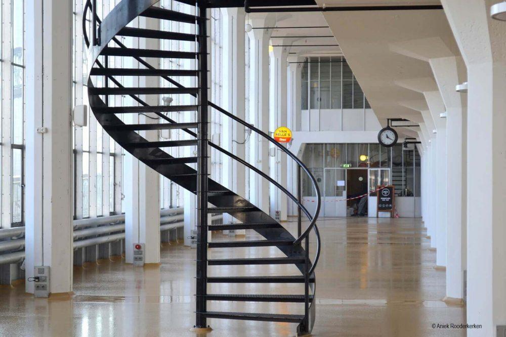 Van Nellefabriek Rotterdam: tegenwoordig een hippe bedrijfsruimte voor creatieve bedrijven