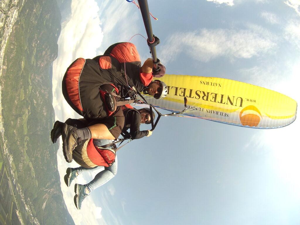 Paragliden in Zuid-Tirol: Zweven boven de bergen