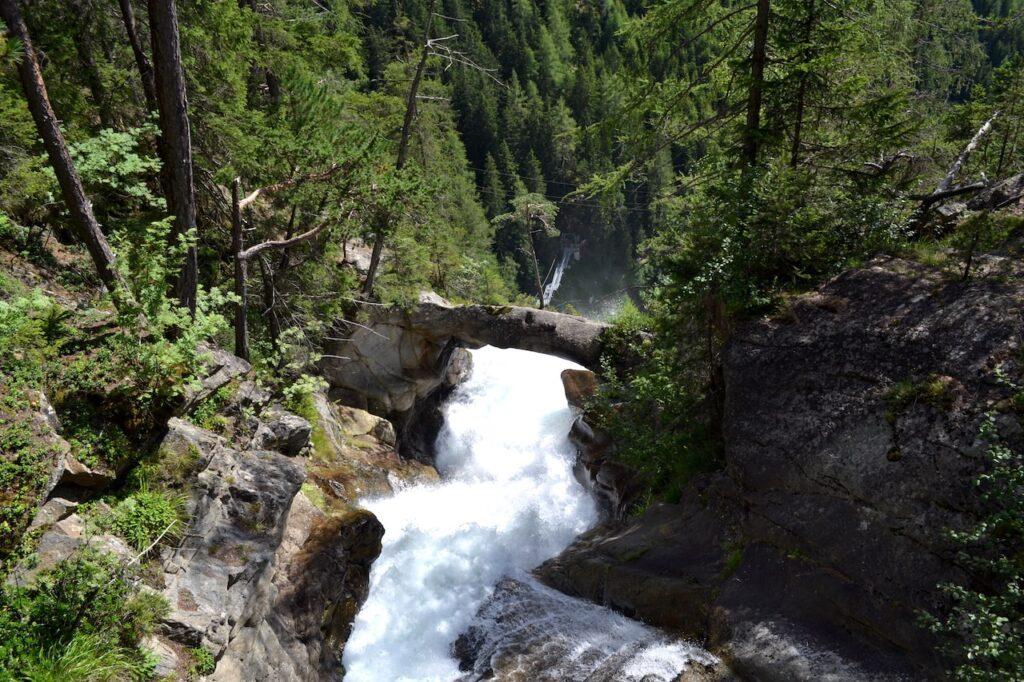 Stuibenfall Umhausen, de hoogste waterval in Tirol