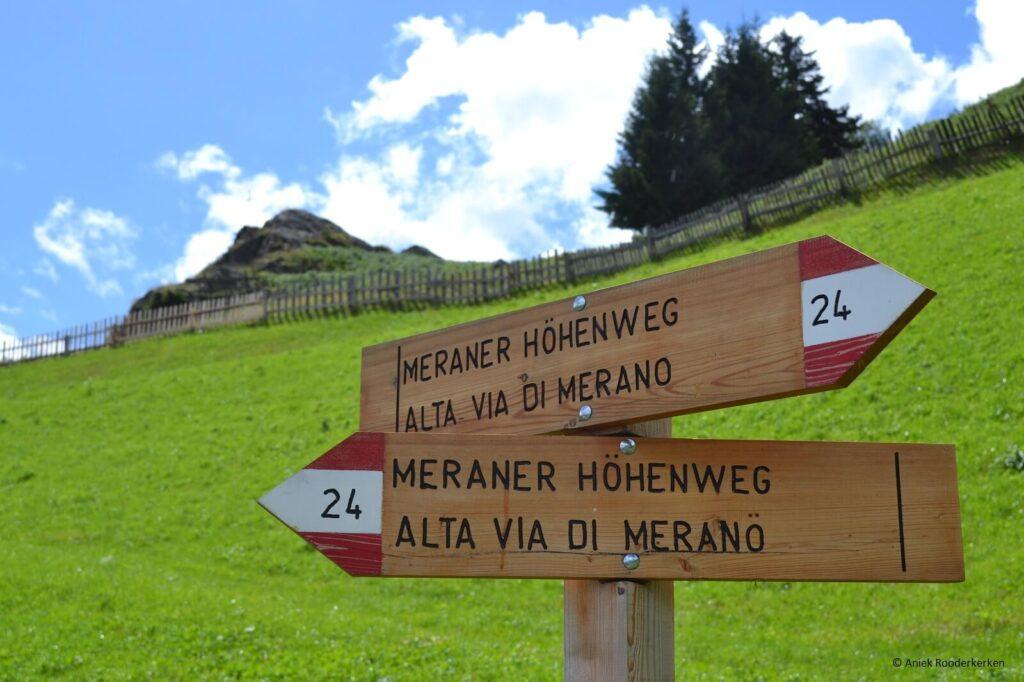 De weide bij Berggasthaus Giggelberg