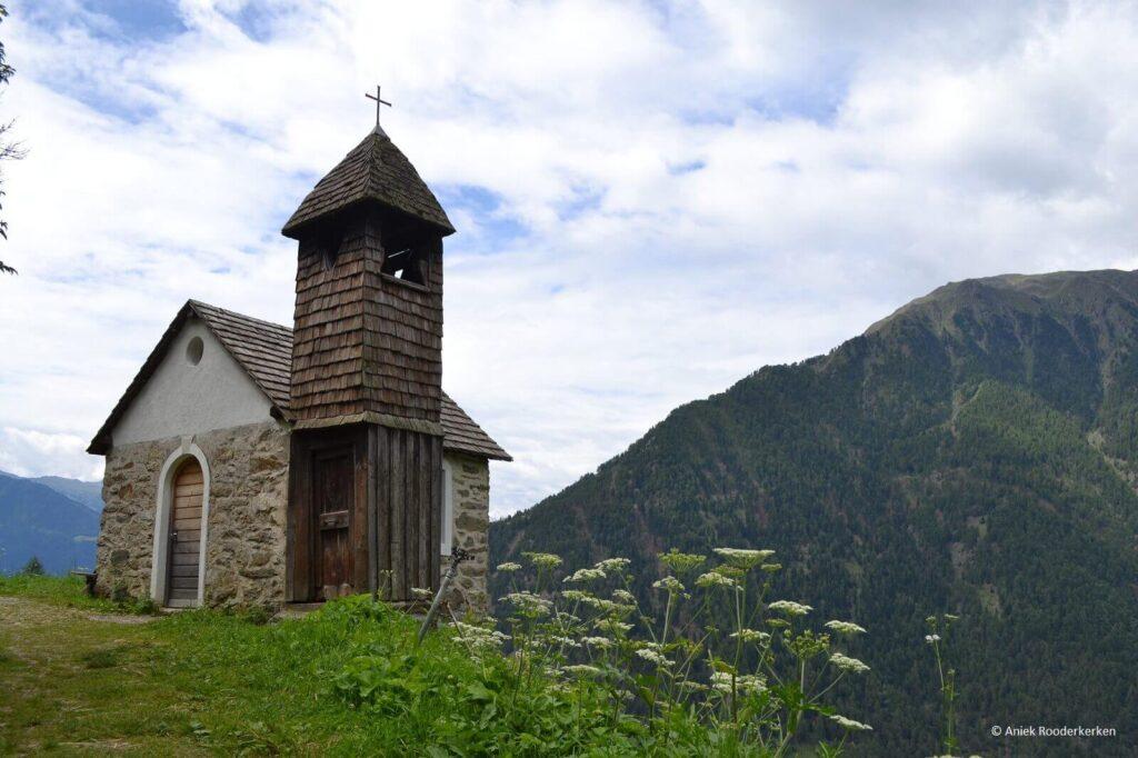 Nabij Katharinaberg in Zuid-Tirol