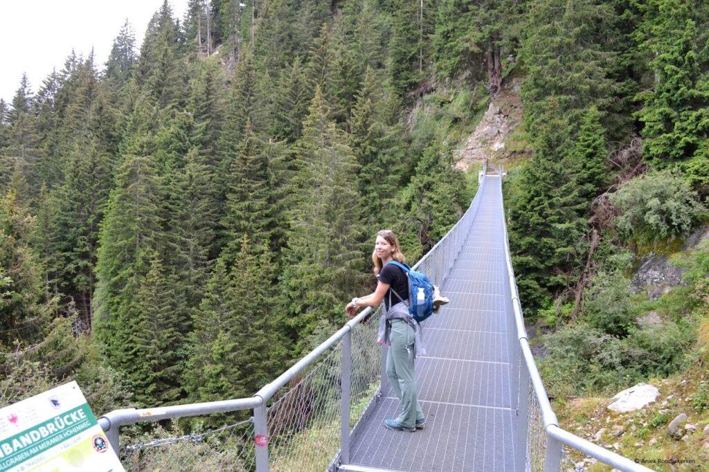Spannbandbrücke bij Töllgraben