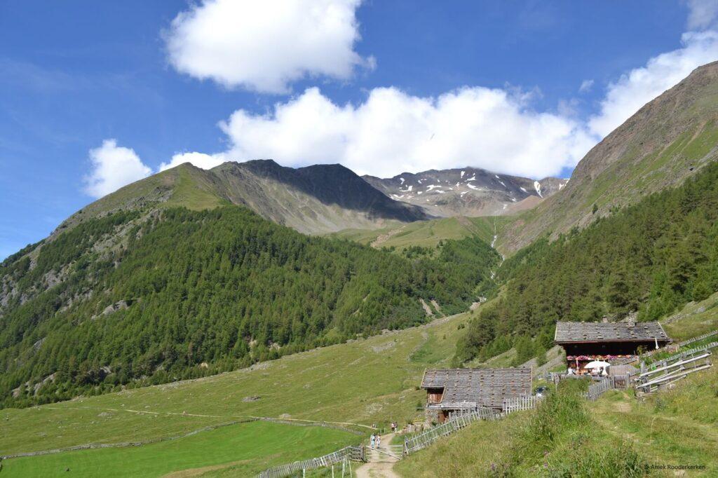 Van de Untervernatschhof naar de Eishof