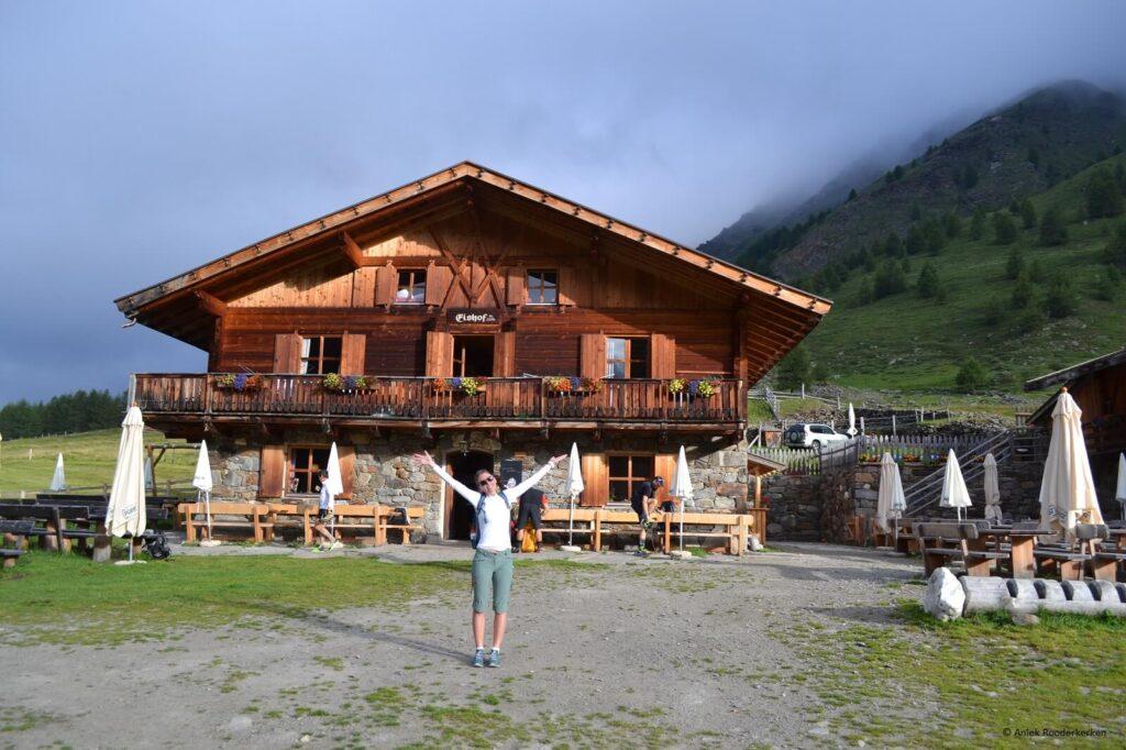 Vertrek vanaf de Eishof (2.069 m)