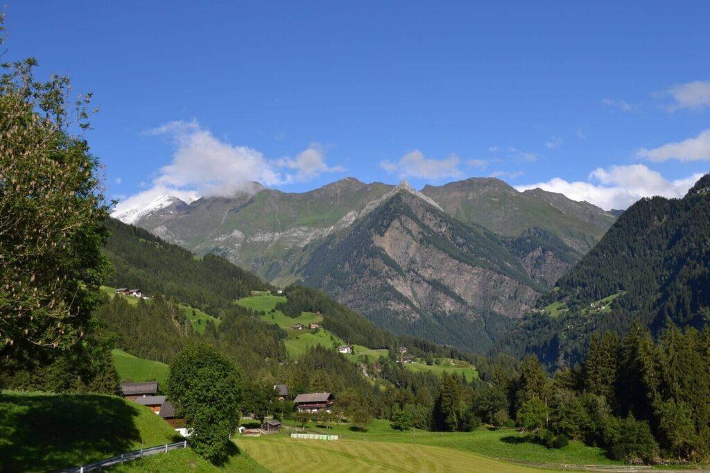 Bij het eindpunt van de Meraner Höhenweg schijnt de zon!