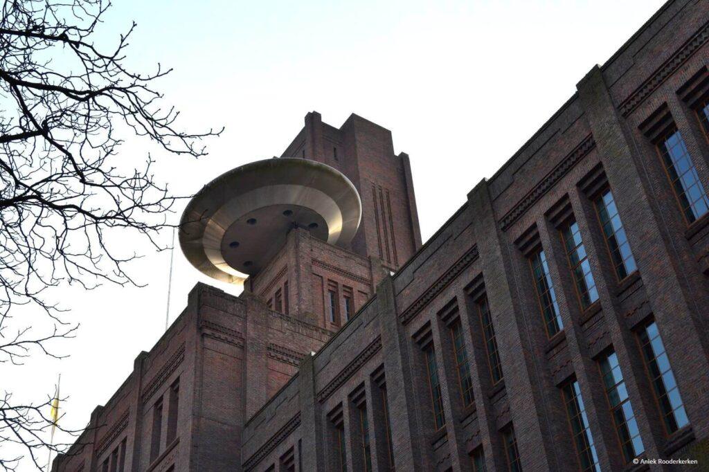 Vliegende schotel bij de Inktpot Utrecht