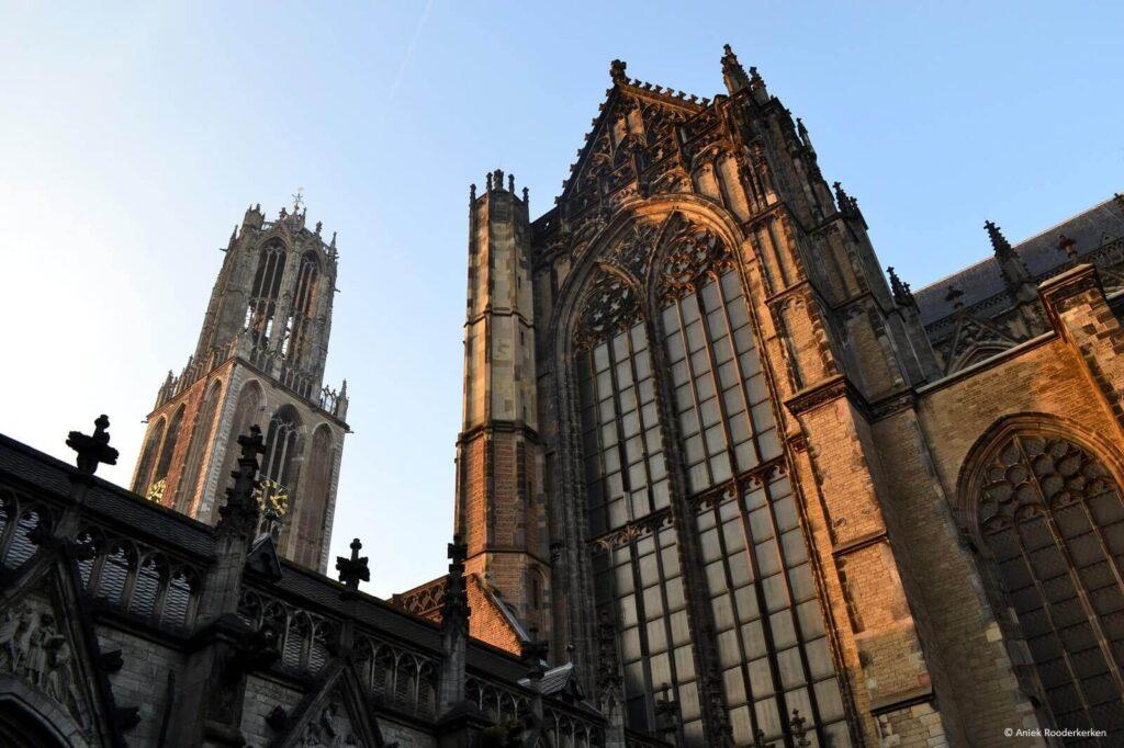 Dom van Utrecht en het Pandhof