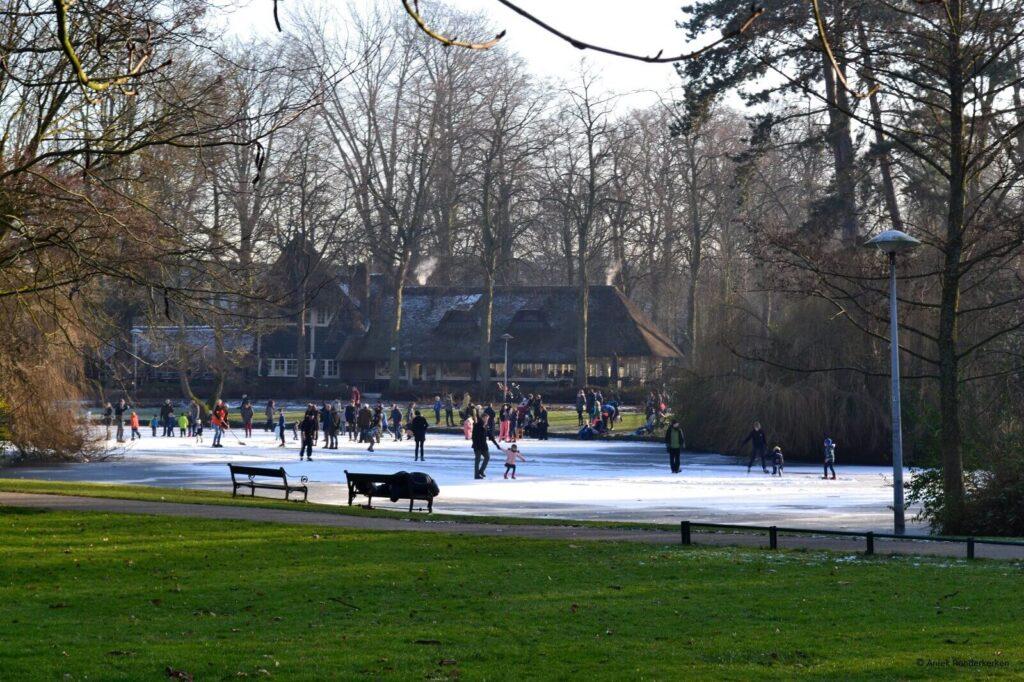 Groene Wissel wandeling Utrecht, Wilhelminapark