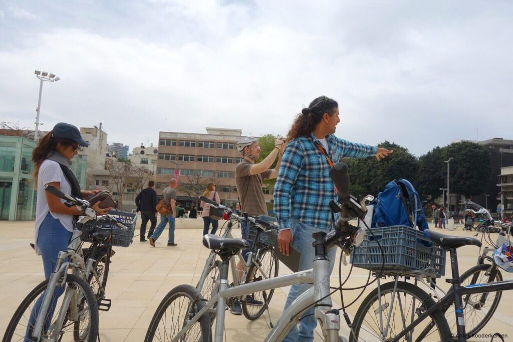 Fietsen in Tel Aviv