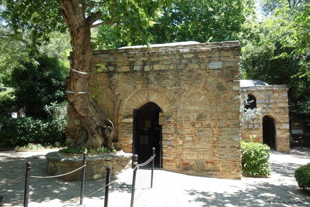 Het Huis van de Heilige Maagd Maria, Efeze, Turkije