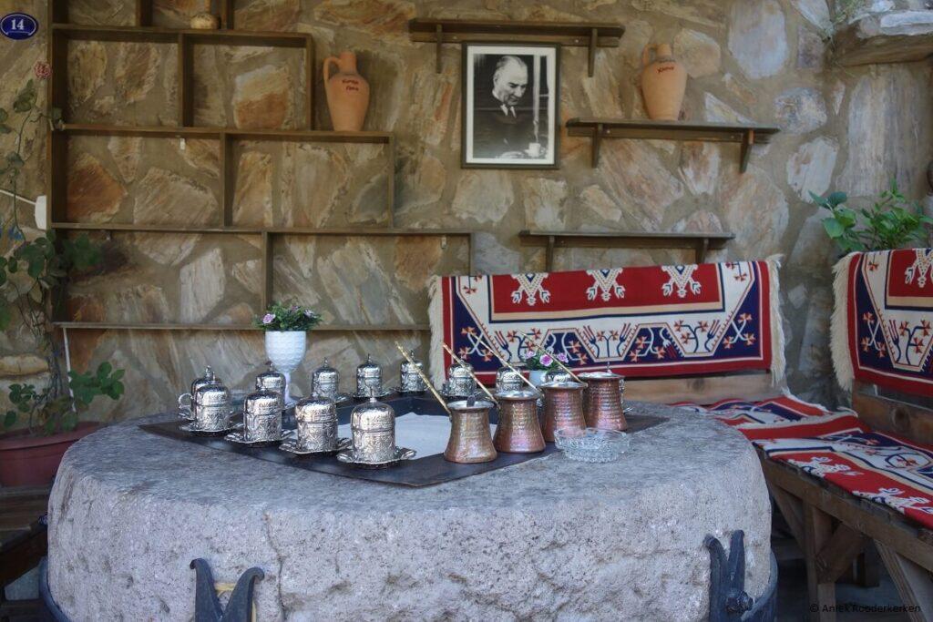 Turkse koffie in Şirince
