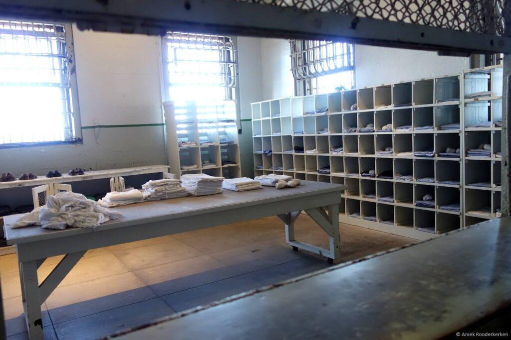Linnenkamer van Alcatraz in San Francisco