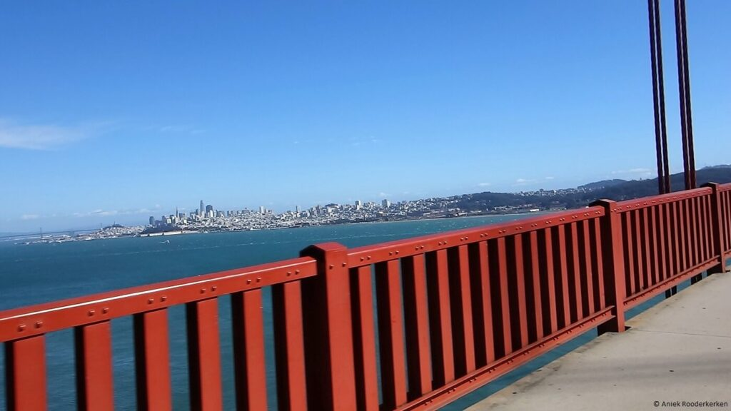 Fietsen over de Golden Gate Bridge