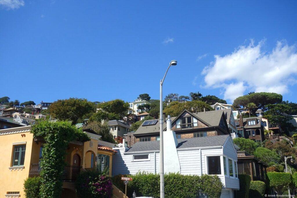 Fietsen van San Francisco naar Sausalito