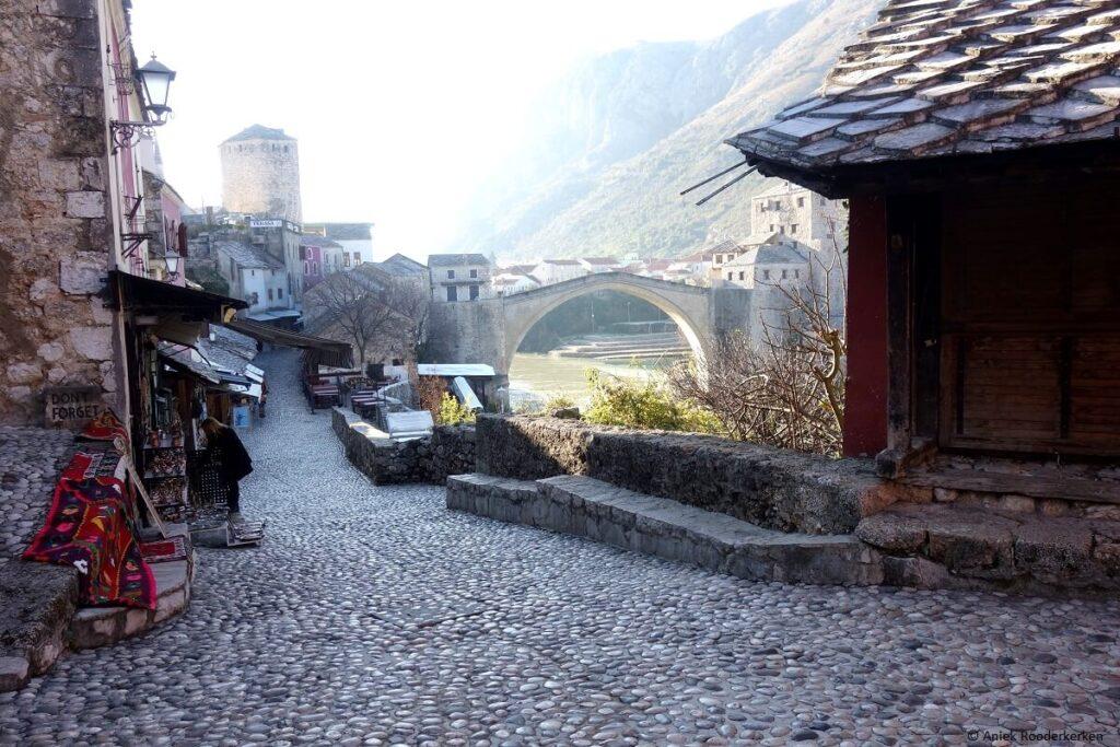 Historisch centrum van Mostar in Bosnië en Herzegovina