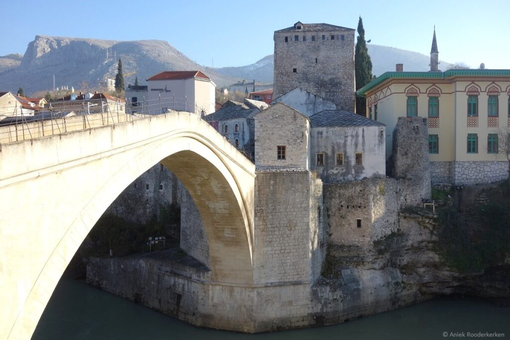 Stari Most in Mostar, Bosnië en Hezegovina