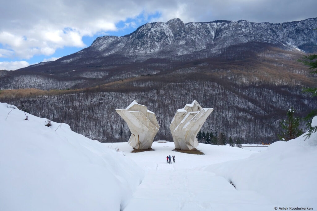 Sutjeska Nationaal Park WW2 Monument