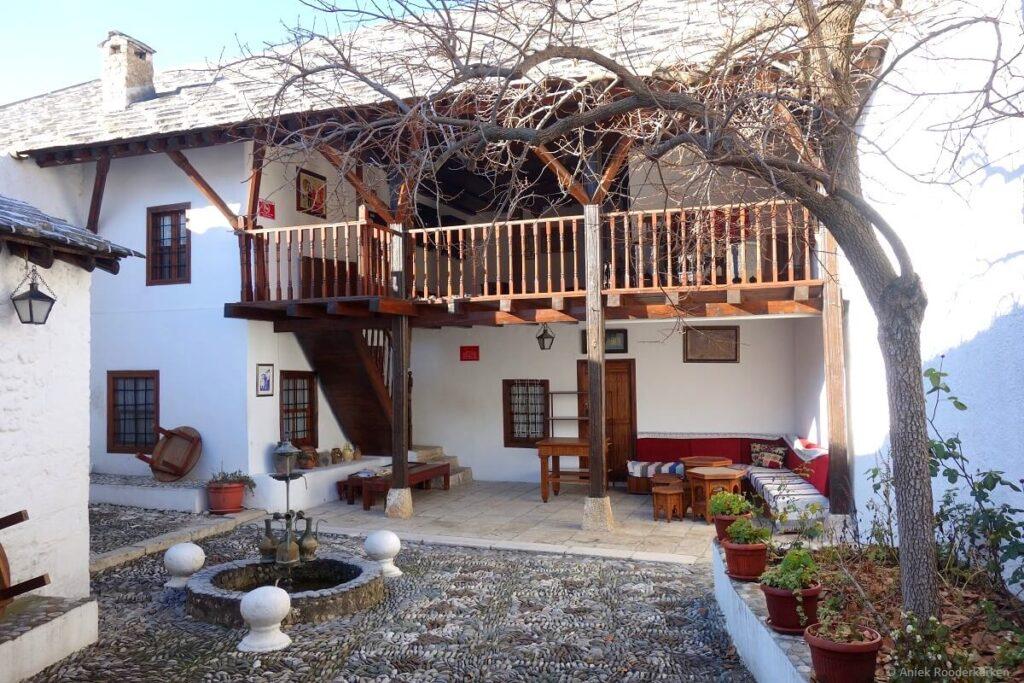 Turks woonhuis in Mostar, Bosnië en Herzegovina