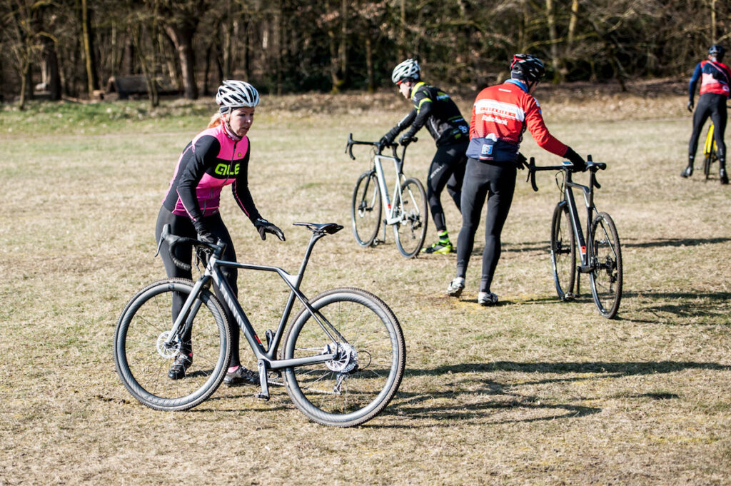 Cyclocross training van Gerben de Knegt