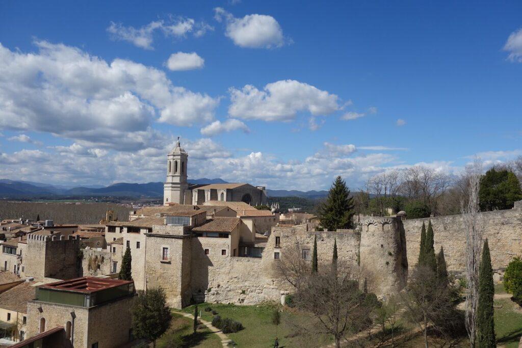Murallas, de stadsmuren van Girona