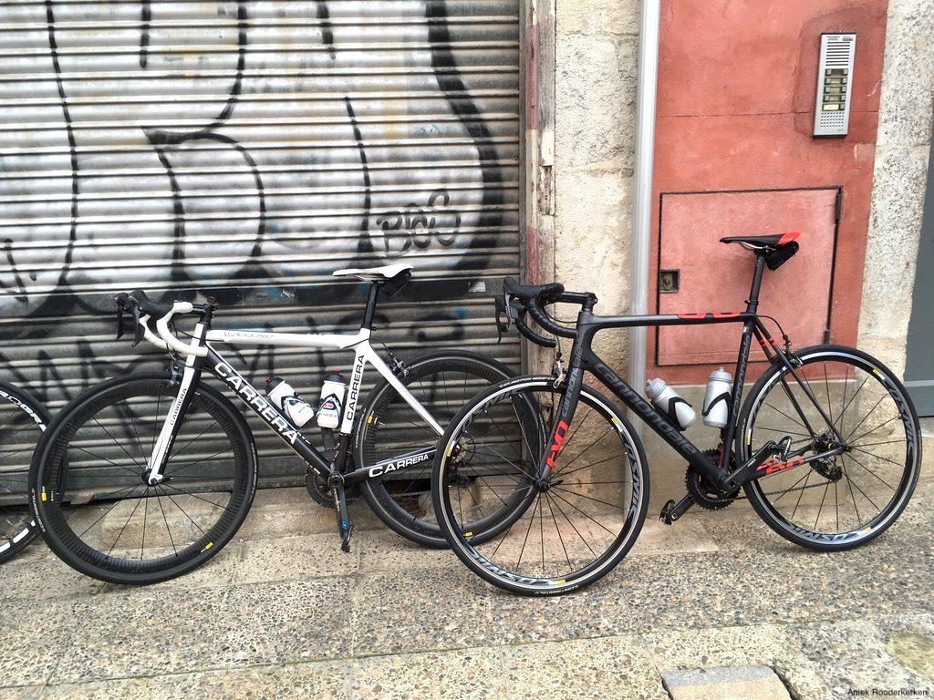 Racefietsen in Girona