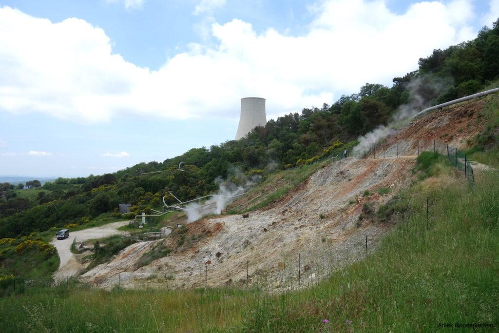 Energiecentrale geothermische energie