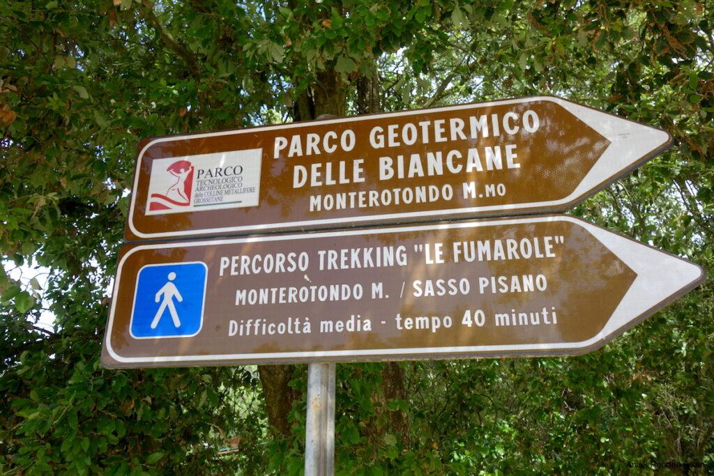 Percorso trekking Parco Naturalistico delle Biancane Italië