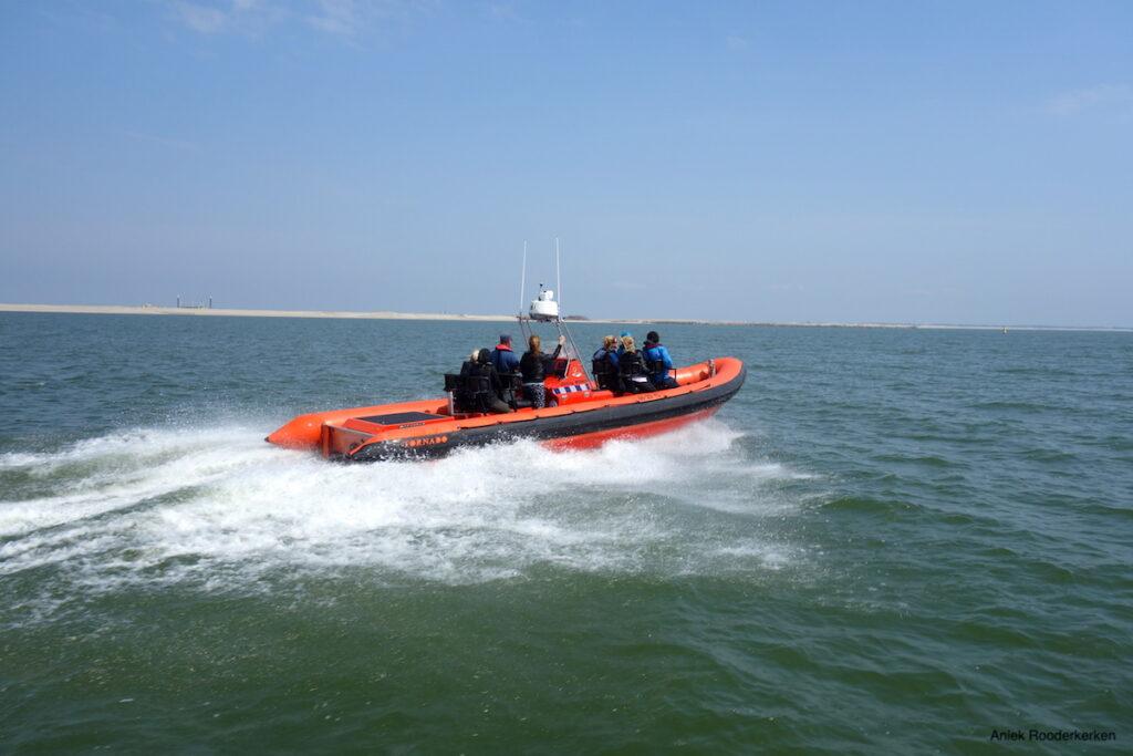 Excursie met de Waterhulpdienst