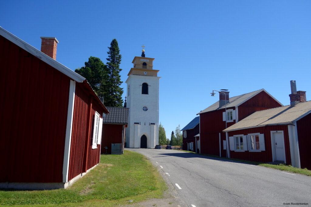 Het dorpje Gammelstad bezoeken