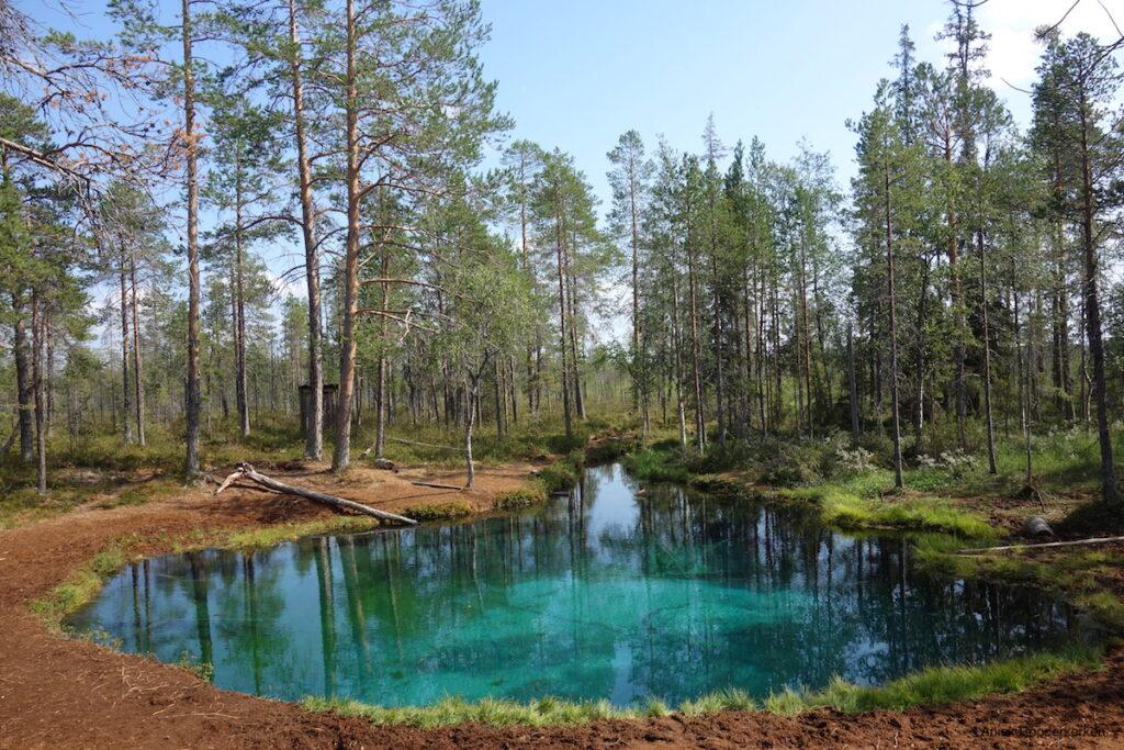 Grodkällan: het mooiste meer van Zweden