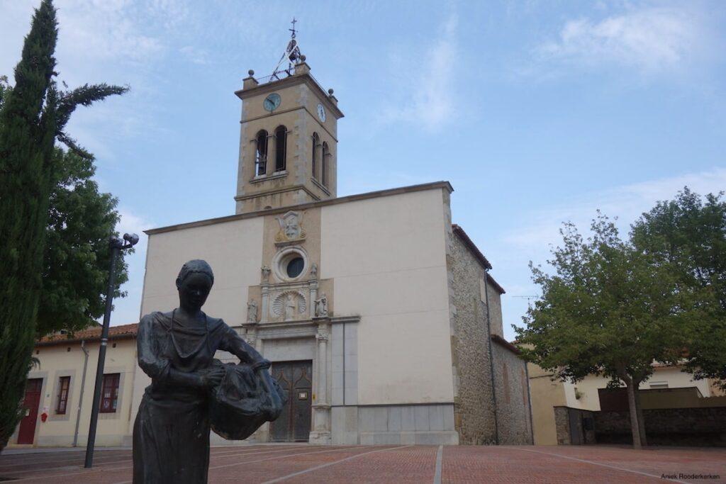 Kerkje in Bescanó, vlakbij Girona