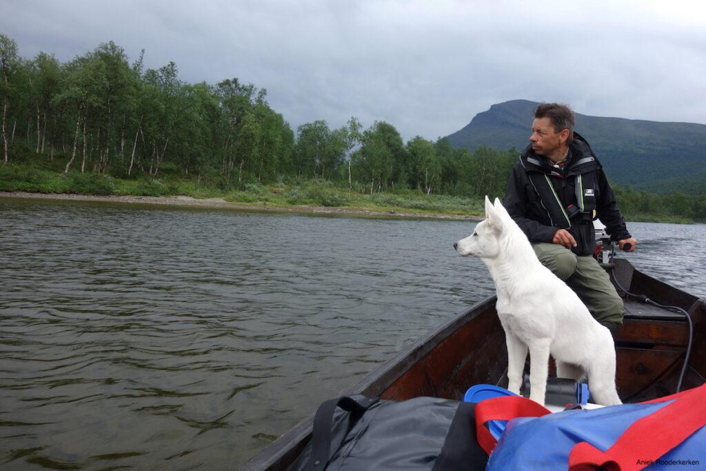 Op uitnodiging van Ann en Mikael Vinka bezoeken we de Geunja Sámi Lodge
