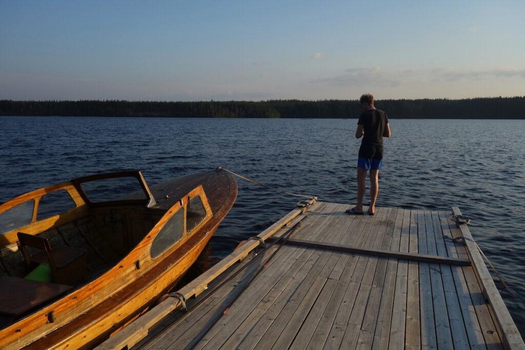 De laatste stop in Zweeds Lapland is bij Svansele Wilderness Centre