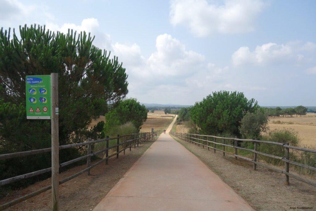 De Ruta del Carrilet in Catalonië.
