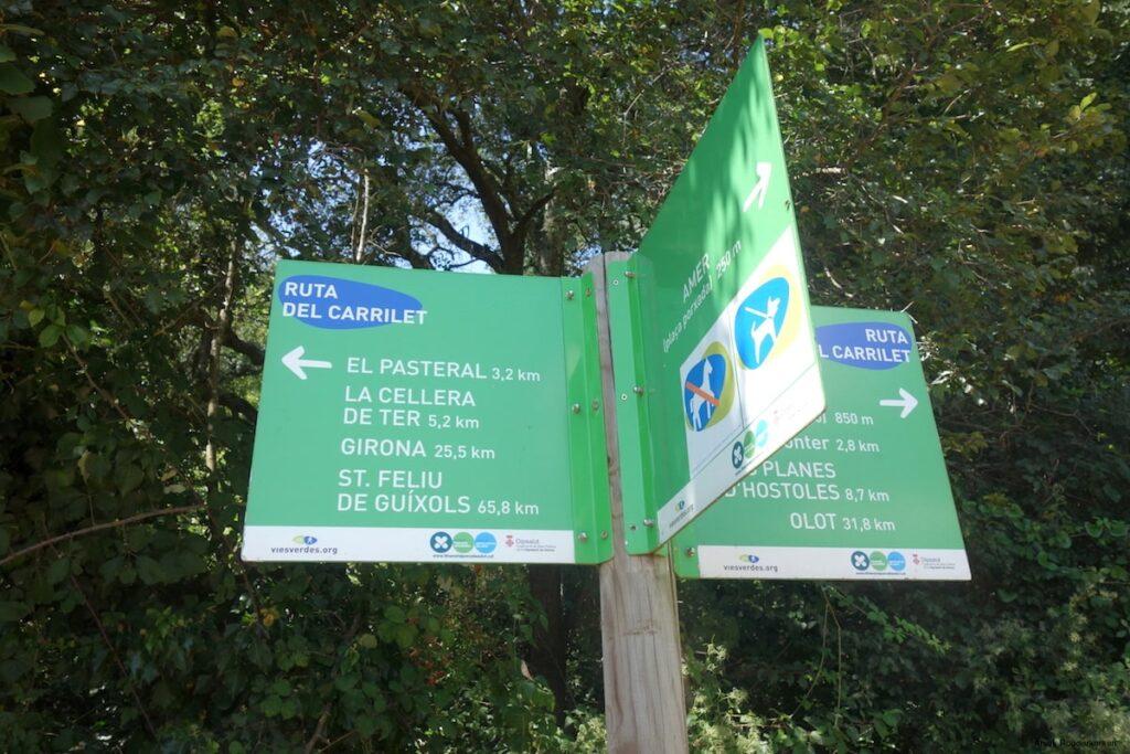Ruta del Carrilet, Vies Verdes