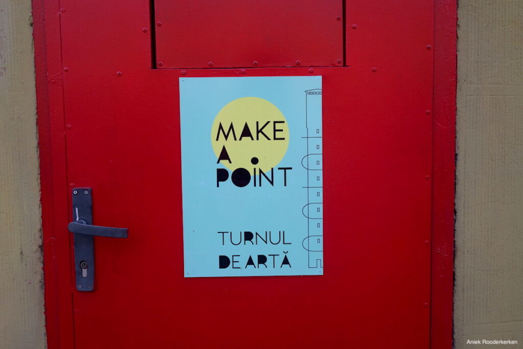 Make a point – De watertoren van Pantelimon