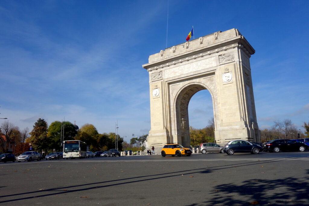 De Arcul de Triumf van Boekarest