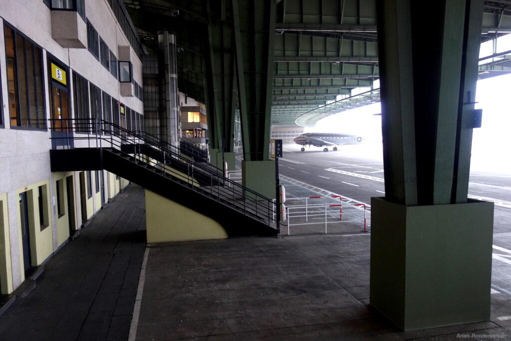 Rondleiding over Flughafen Tempelhof in Berlijn