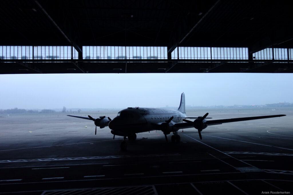 Flughafen Tempelhof in Berlijn