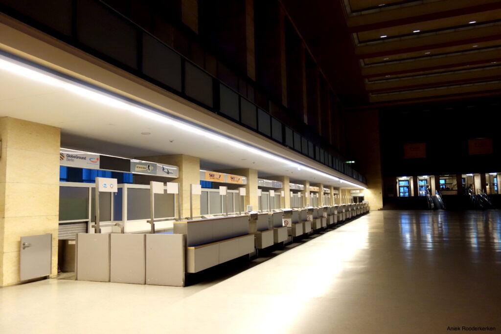 Een verlaten vliegveld: Flughafen Tempelhof in Berlijn