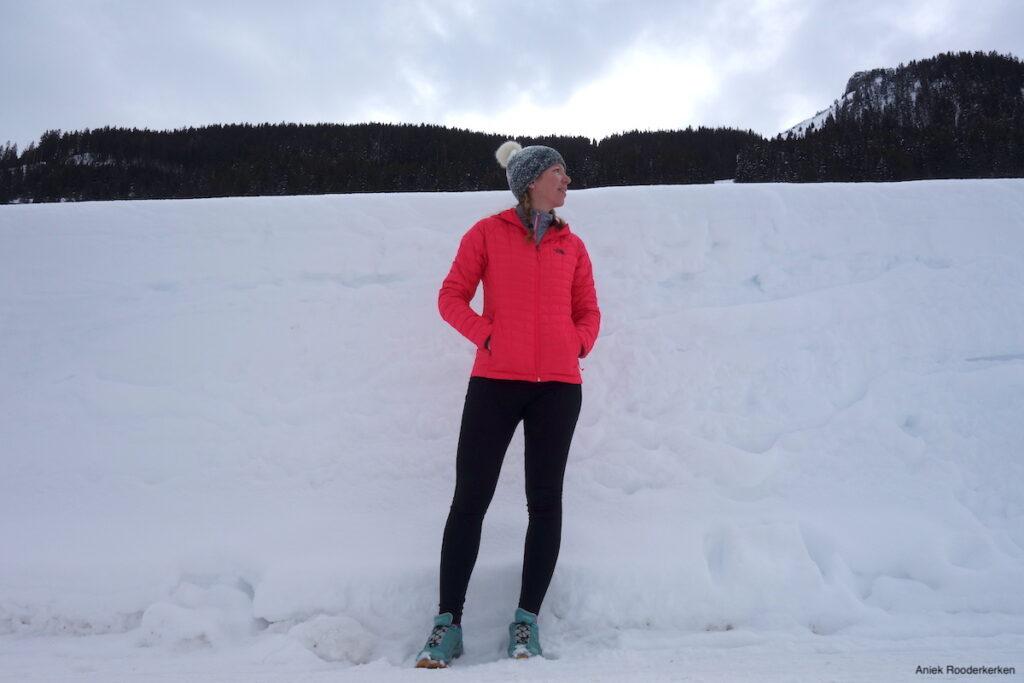 Hiken in de winter in Oostenrijk.