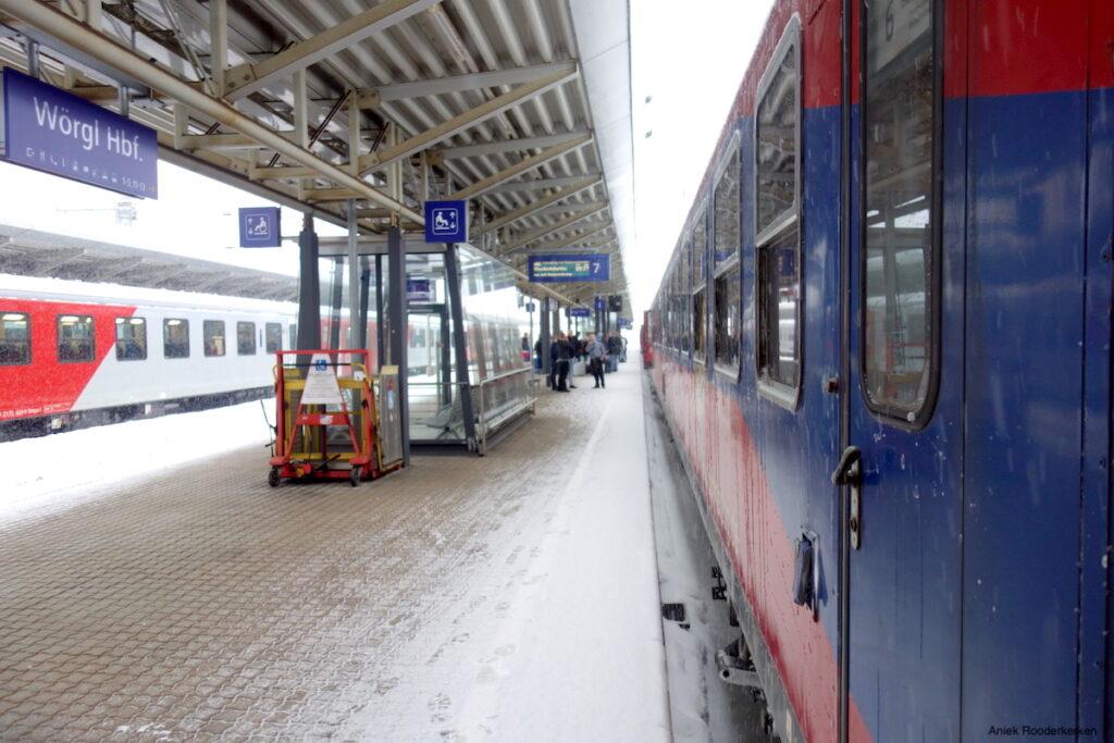Wintersporttrein: met de Alpen Express naar Oostenrijk
