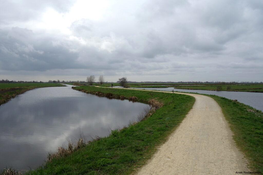 Gravelstrook bij Schoonhoven