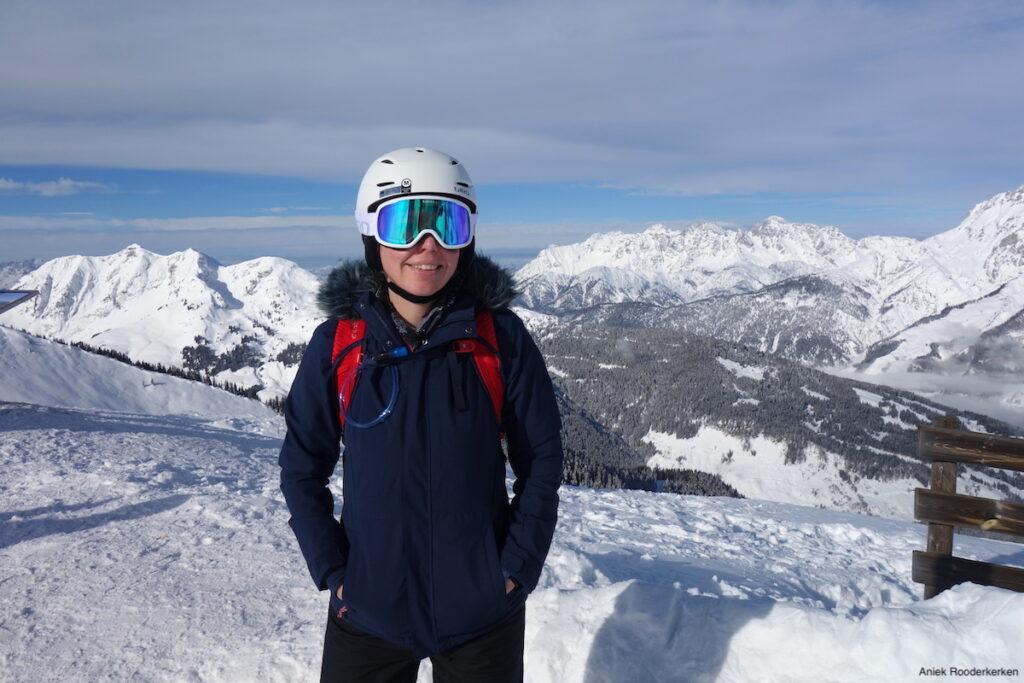 De Osprey rugzak tijdens de wintersport in Oostenrijk