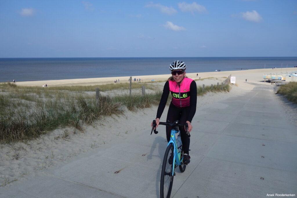 Ik kon het niet laten om meteen naar de kust te fietsen in Callantsoog