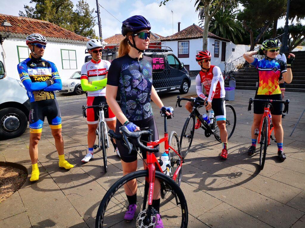 Fietsen met Tenerife Bike Training