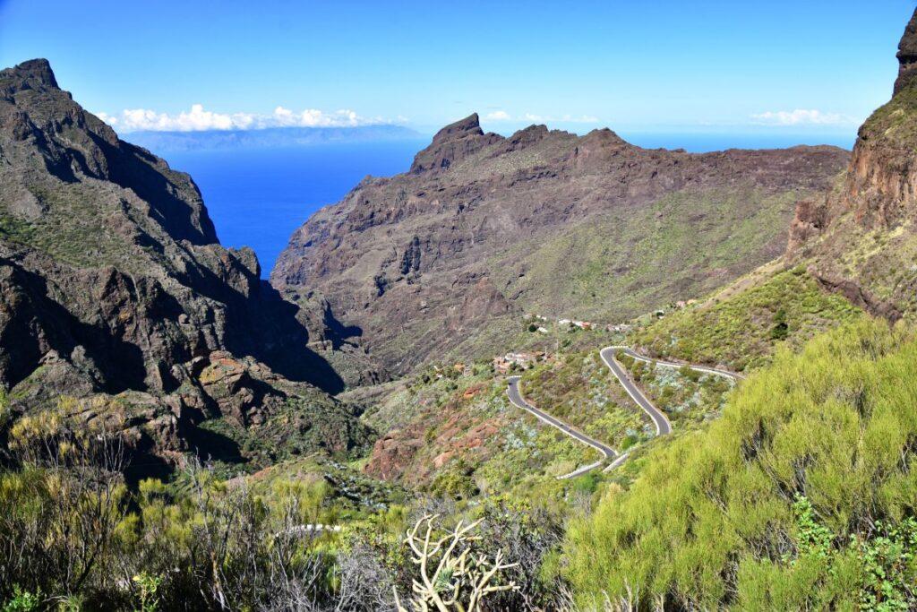 Fietsen door het vulkanisch landschap van Tenerife