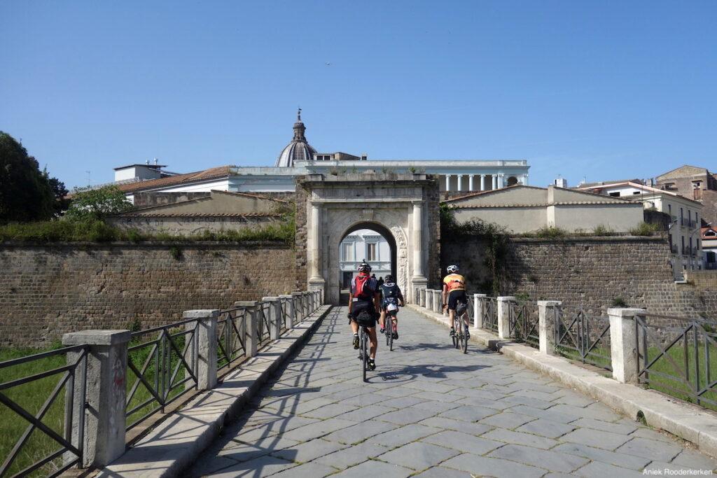 Op weg naar Caserta